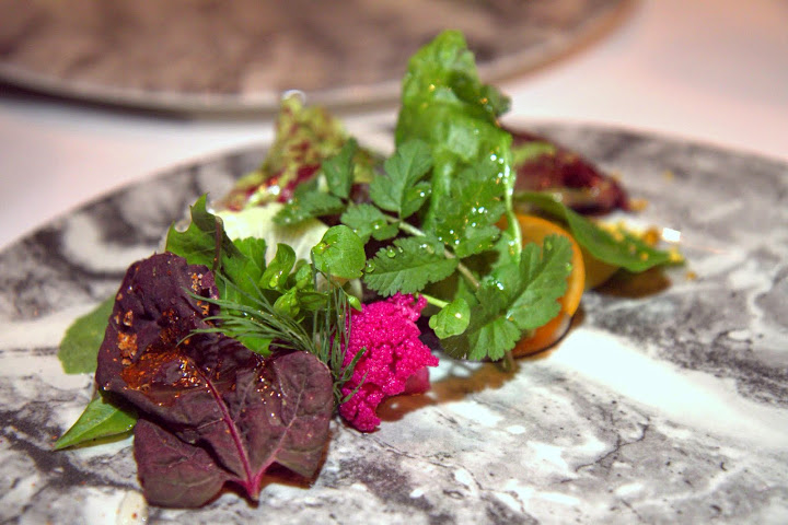 Californios' vegetable course