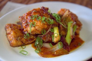 Oh, that hot fried wild snapper at Chubby Noodle