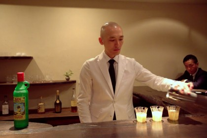 The sacred cocktail temple of Gen Yamamoto