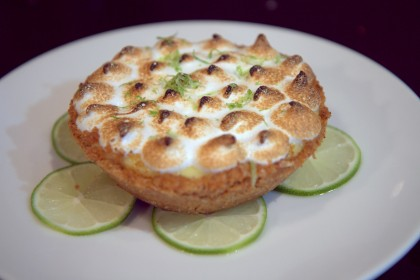 Key lime tart at Fishing with Dynamite