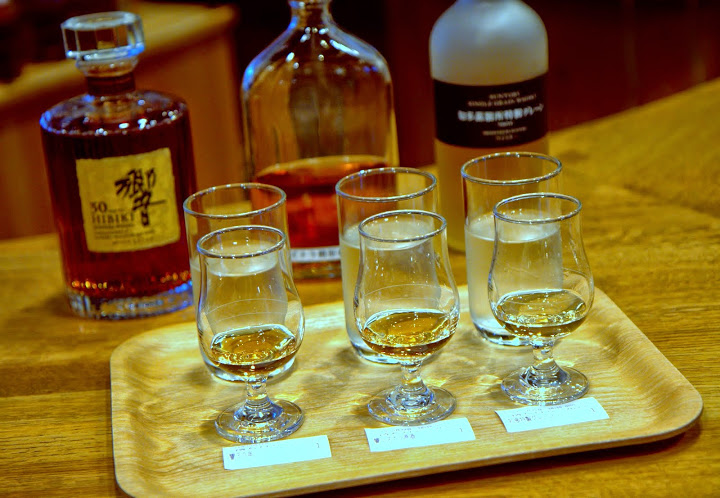 Finishing with a revisit to rarities like Hibiki 30 year whisky (another whisky in the Suntory family) in the Yamazaki tasting room