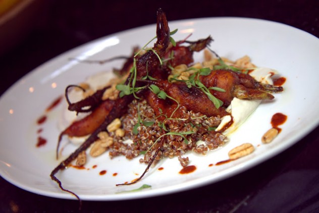 The Keystone's carrots and red quinoa dish