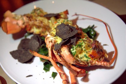 RN74's lobster thermidor