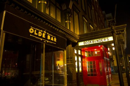 The Olde Bar is the former legendary Bookbinders