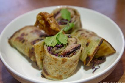 Hop Alley's Beijing duck roll
