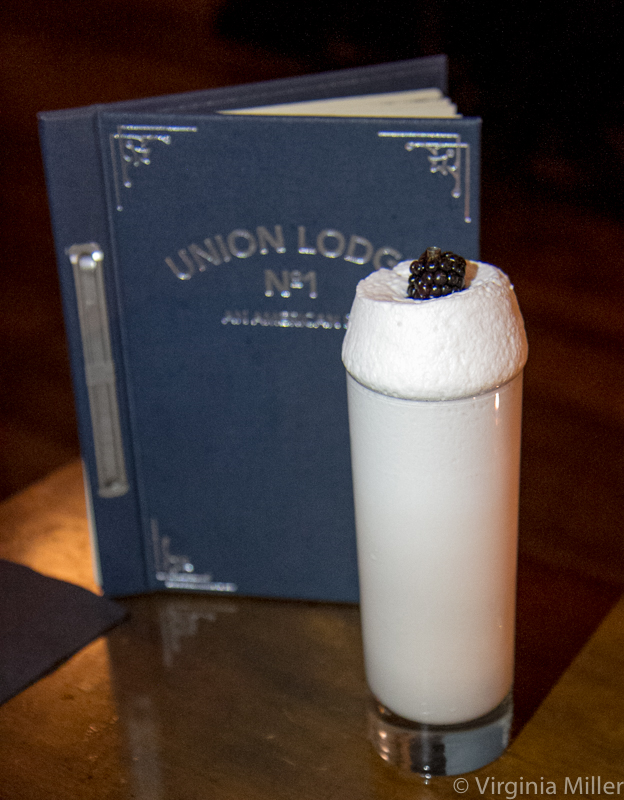 Union Lodge's Ramos Gin Fizz